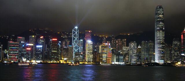 File:Hong Kong skyline night lights.jpg