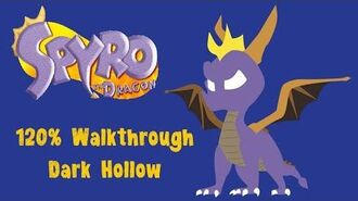 Spyro the Dragon 120% Walkthrough - 3 - Dark Hollow