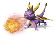 Spyro fire