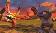 Spyro and Trigger Happy
