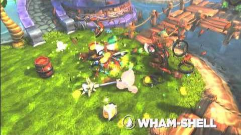Skylanders Spyro's Adventure - Wham Shell Preview (Brace for the Mace)