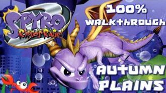 Spyro 2- Ripto's Rage! 100% Walkthrough - 10 - Autumn Plains