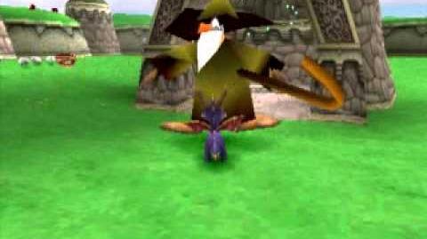 Spyro Invincibility Glitch
