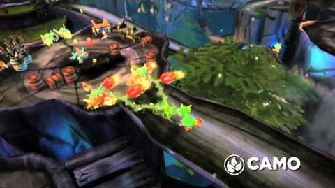Skylanders Spyro's Adventure - Camo Trailer (Fruit Punch)