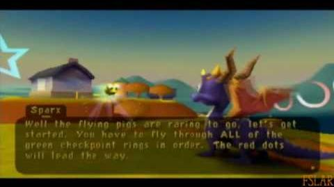 Spyro Year of the Dragon - 100% - Country Speedway