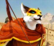 Hunter in Dragon City