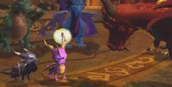 Guardians Spyro Cynder Sparx