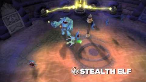 Skylanders Spyro's Adventure - Stealth Elf