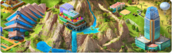 Artificial Mountain (Quest) Background