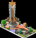 Bronze SB-24 Bomber Monument