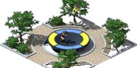 Park with a Trampoline