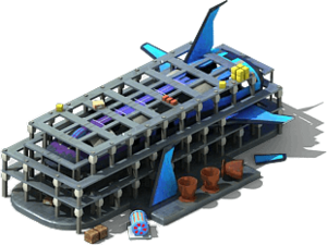 SS-69 Spaceship Locked
