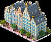 Guildhalls in Antwerp