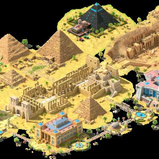 Pharaoh's Curse Area