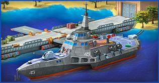Arms Race IX Background