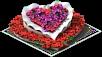 Heart Flowerbed