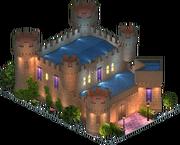 Castillo de Olmillos de Sasamon (Night)