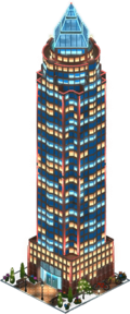 MesseTurm Hotel (Night)