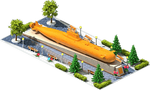 Gold NS-24 Nuclear Submarine