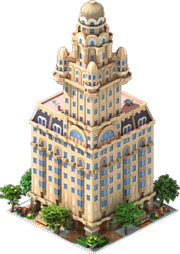 Building Palacio Salvo