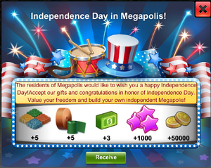 Independence Day Start Gift