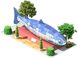 Big Fish Sculpture