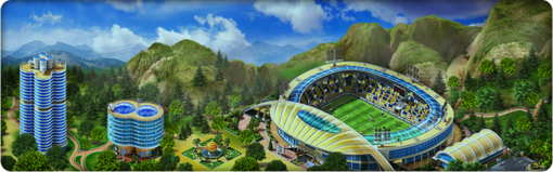 Soccer Cup in Megapolis! Background