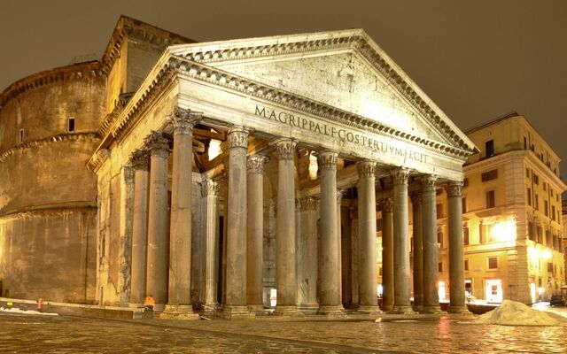File:RealWorld Roman Pantheon (Night).jpg