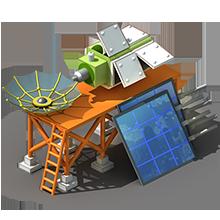 CS-37 Communications Satellite Construction