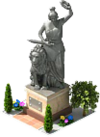 Bavarian Statue