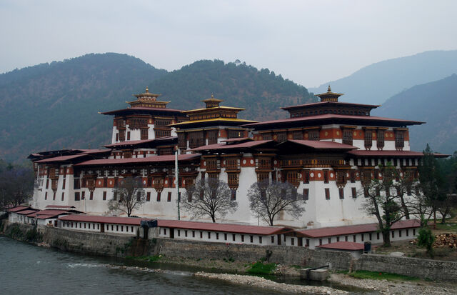 File:RealWorld Punakha Dzong Palace.jpg