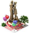 Decoration Statue of Lovers