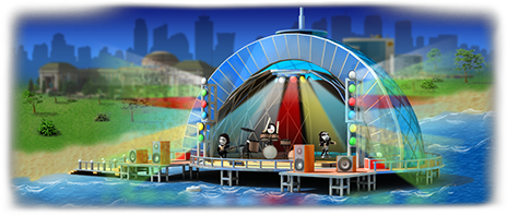 Concert Stage Artwork