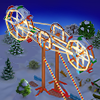 Quest Roller Coaster on a Hill