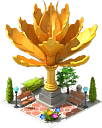 Lotus Sculpture