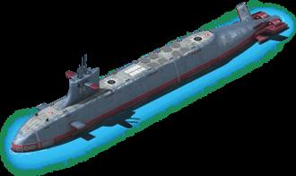 NS-64 Nuclear Submarine L1