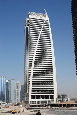 File:RealWorld Dubai Arch Tower.jpg