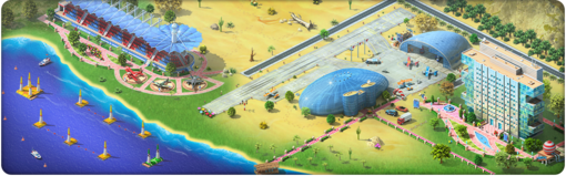An Air Show and an Air Race Background