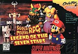 Super Mario RPG SNES Cover