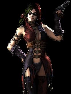 Harley Quinn CG Art