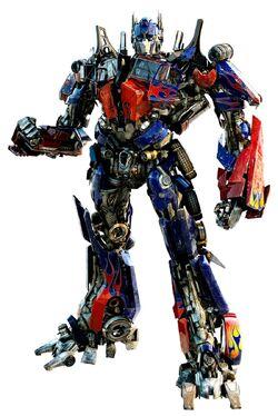 Optimus Prime CG Art