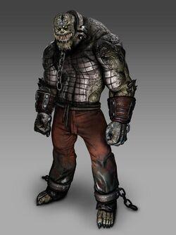 Killer Croc CG Art