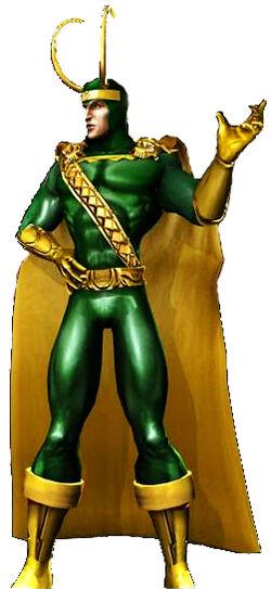 Loki CG Art