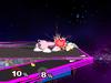 Jigglypuff Floor attack (front) SSBM