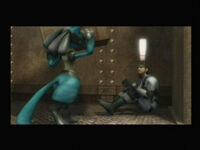 Lucario finds Snake