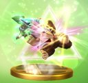 Triforce Slash Toon Link