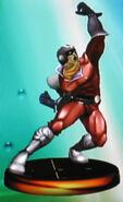 Captain Falcon smash 2 trophy (SSBM)