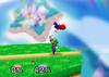Luigi Up tilt SSB