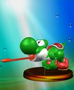 YoshiTrophySSBM2