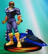 Captain Falcon trophy (SSBM)
